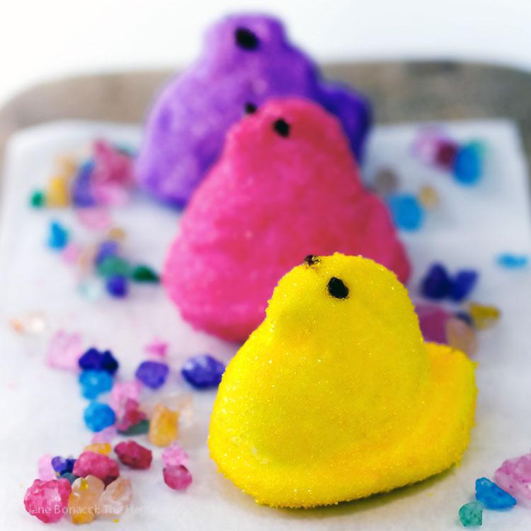 Homemade Marshmallow Peeps for Easter