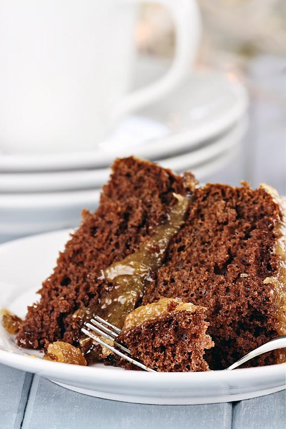 German Chocolate Cake; 2016 Jane Bonacci, The Heritage Cook