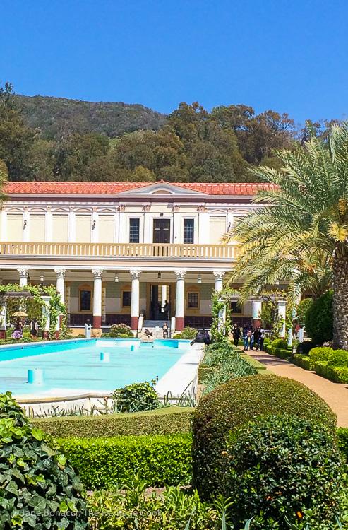 The Getty Villa; Breakfast Strata and Marina del Rey Morning - Hollywood-SoCal-SantaBarbara 2016; Jane Bonacci, The Heritage Cook.