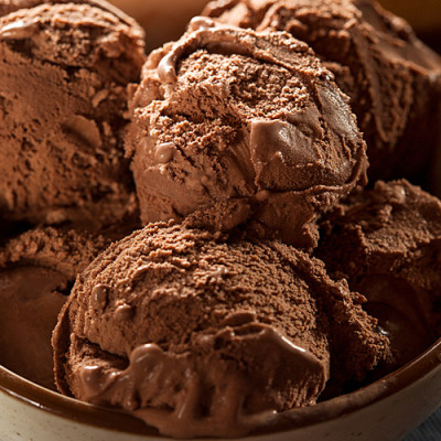 Mind Blowing Dark Chocolate Zin Ice Cream