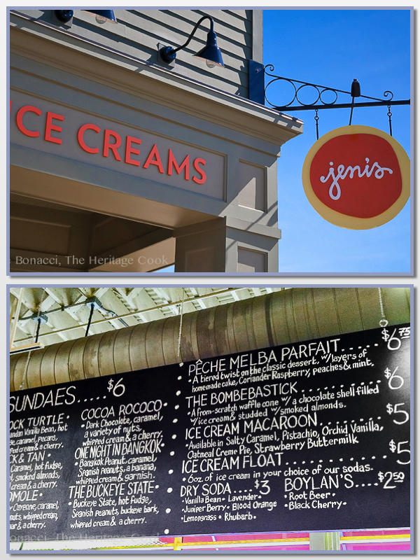 Dark Chocolate Zinfandel Ice Cream; 2014 Jane Bonacci, The Heritage Cook