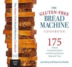 Gluten Free Bread Machine Cookbook Front Cover
