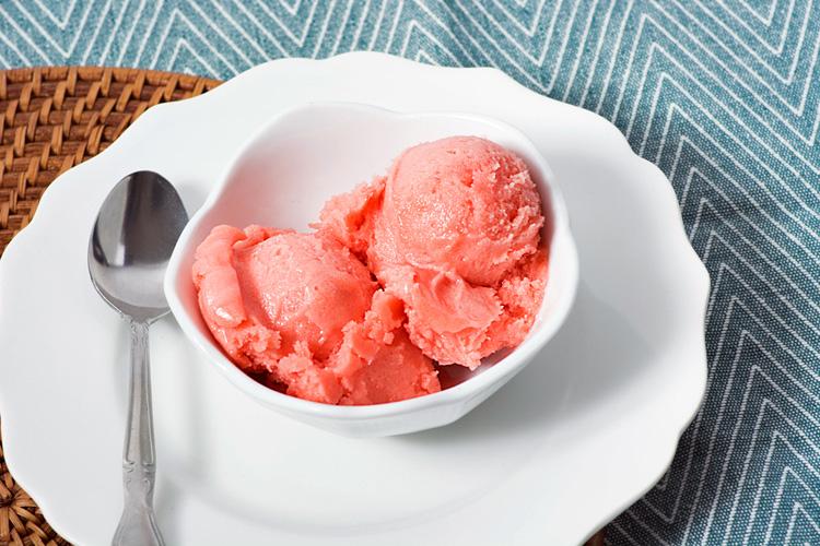 Refreshing watermelon sorbet; Graeters Ice Cream Images 2016