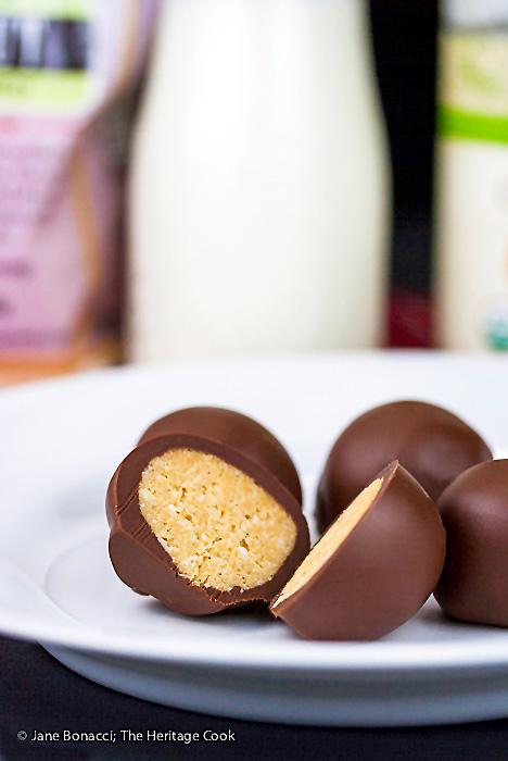 Almond Coconut Truffles © 2016 Jane Bonacci, The Heritage Cook