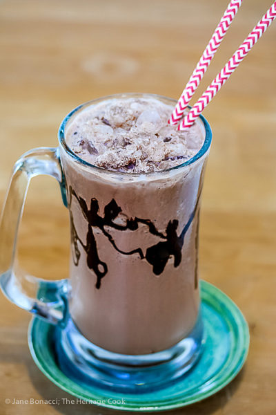 Adult and Kid Friendly Frozen Hot Chocolate and KitchenAid Giveaway ~ Gluten-Free