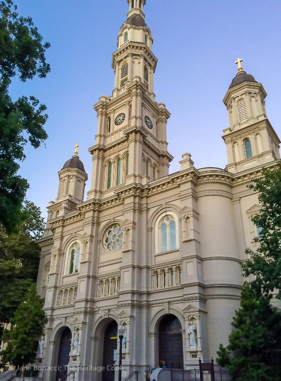 Elegant church in downtown Sacramento; IFBC 2016 Sacramento; Jane Bonacci, The Heritage Cook