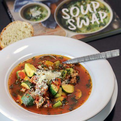 Italian Sausage and Zucchini Soup (Gluten Free)