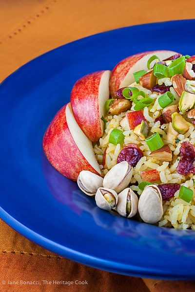 Basmati Rice-Apple Pilaf- Jane Bonacci, The Heritage Cook