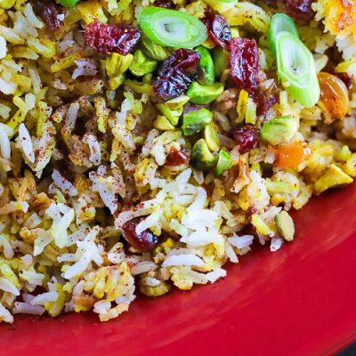 Persian-Style Jeweled Rice (Gluten-Free)