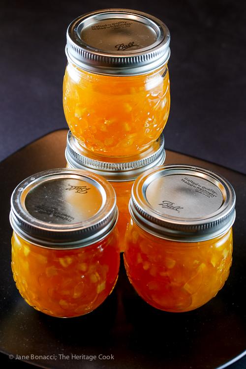 Homemade Orange Marmalade; Jane Bonacci, The Heritage Cook