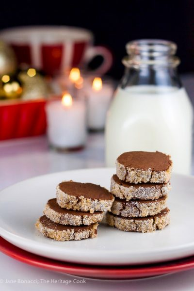 Sugary Chocolate Sable Cookies (Gluten-Free)