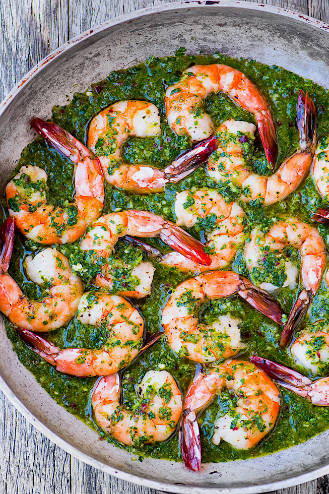 Chimichurri Shrimp from The View from Great Island; 75 New Year's Eve Party Recipes