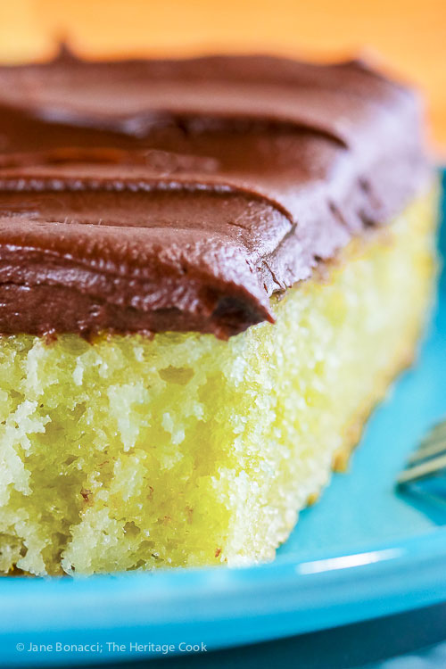 Tender Yellow Cake With Fudge Frosting Gluten Free The
