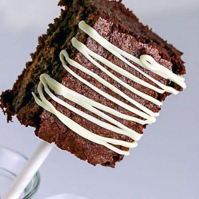 Gluten Free Brownie Pops