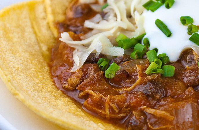 New Mexican Green Chili Chicken Stew © 2021 Jane Bonacci, The Heritage Cook