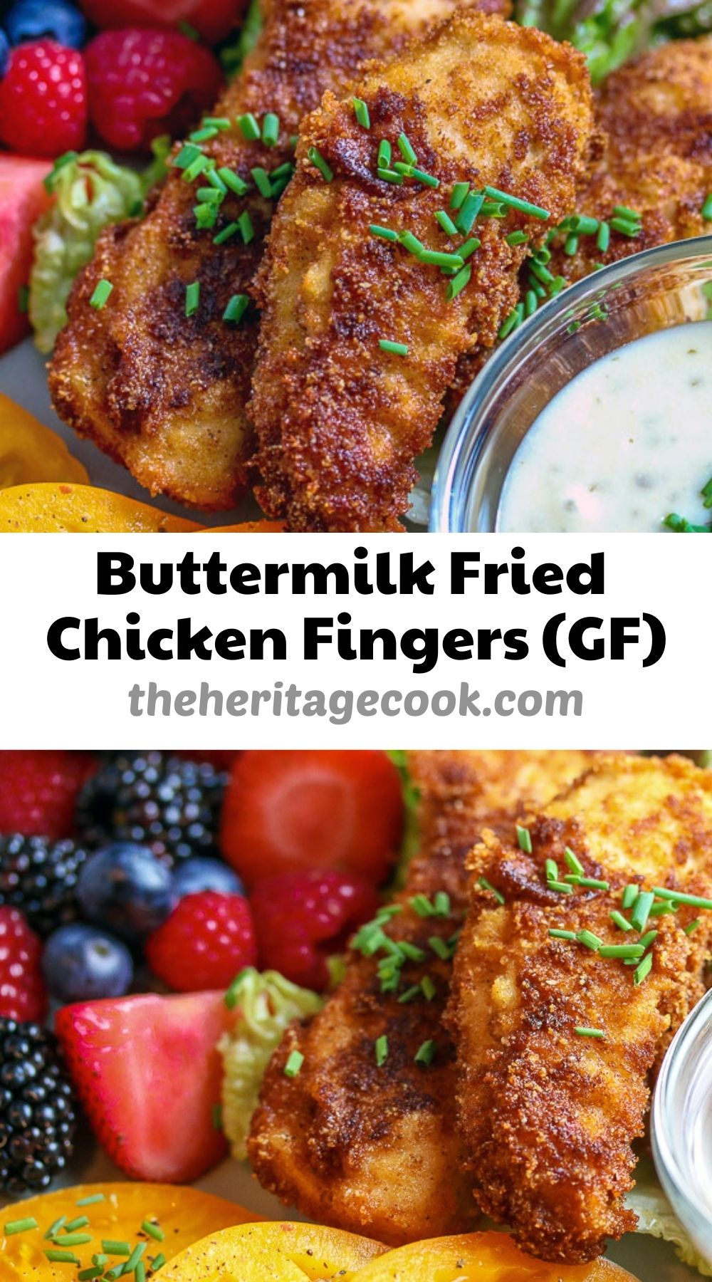 Buttermilk Fried Chicken Fingers © 2021 Jane Bonacci, The Heritage Cook