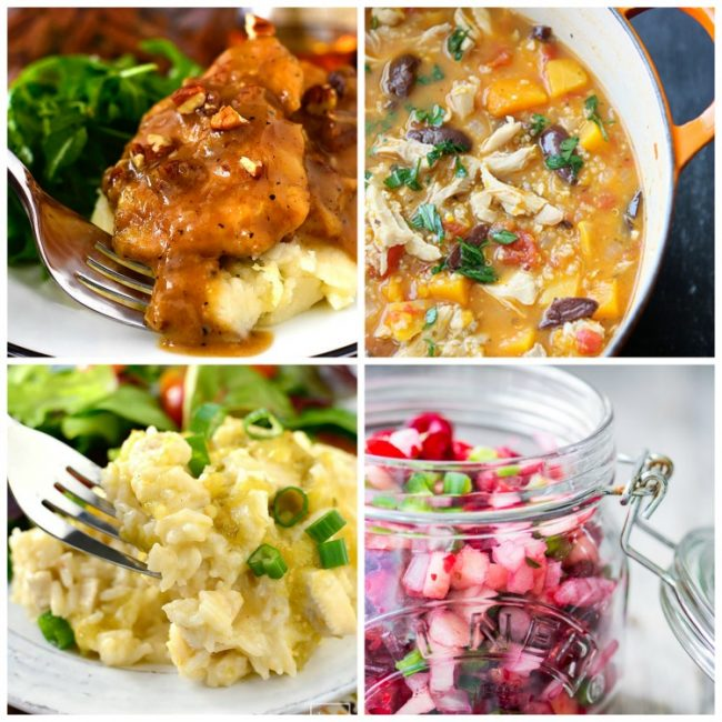 Collection of Autumn Favorites main courses; Jane Bonacci, The Heritage Cook