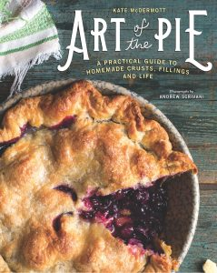 Cover of Art of the Pie cookbook; 2017 Holiday Gift List for Cook from The Heritage Cook; Jane Bonacci, The Heritage Cook