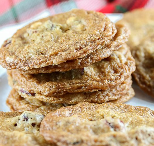 Gluten Free Cranberry White Chocolate Chip Cookies; © 2017 Jane Bonacci, The Heritage Cook