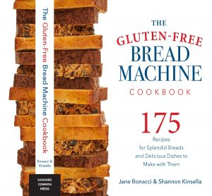 Cover of the Gluten-Free Bread Machine Cookbook by Bonacci and Kinsella
