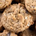 Chewy Oatmeal Chocolate Chip Cookies © 2018 Jane Bonacci, The Heritage Cook