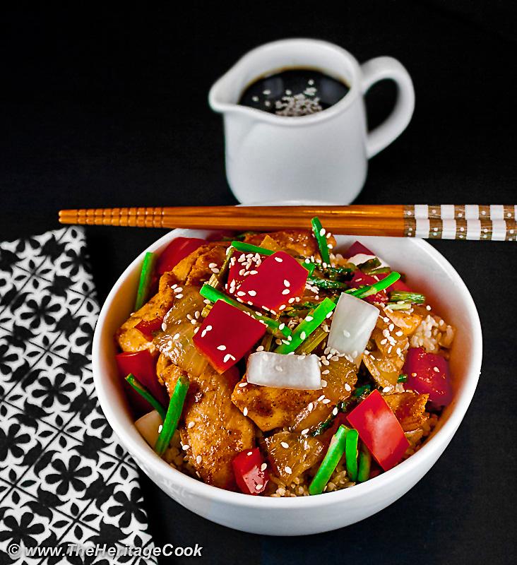 Orange Teriyaki Chicken Rice Bowls ; 10 Tips to Help You Live Gluten Free