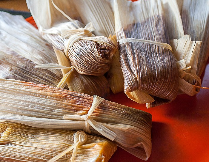 Chocolate Tamales; Top 15 Most Popular Chocolate Monday Recipes from The Heritage Cook 2018 Jane Bonacci, The Heritage Cook