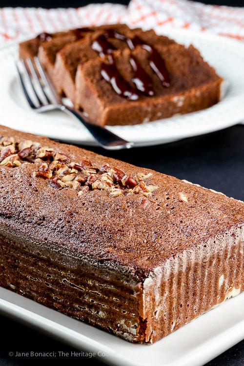 Gluten Free Chocolate Tea Cakes © 2019 Jane Bonacci, The Heritage Cook
