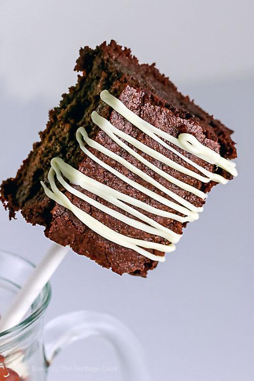 Gluten-Free Brownie Pops