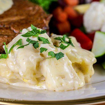 Creamiest Cheesy Potatoes au Gratin (Gluten-Free)