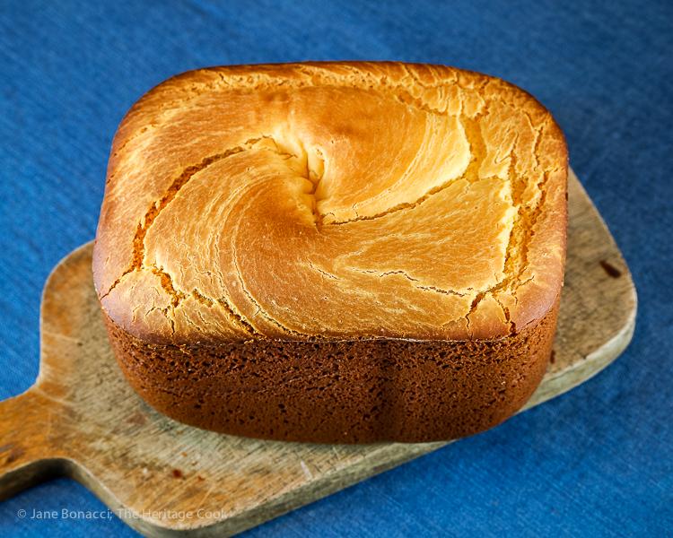 Gluten Free Bread Machine Sorghum Sandwich Bread © 2020 Jane Bonacci, The Heritage Cook