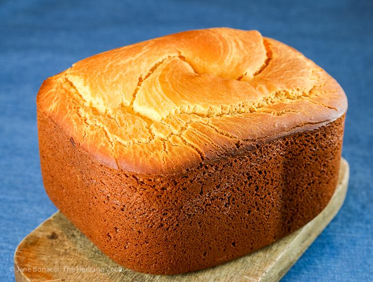 Gluten Free Sorghum Sandwich Bread © 2020 Jane Bonacci, The Heritage Cook