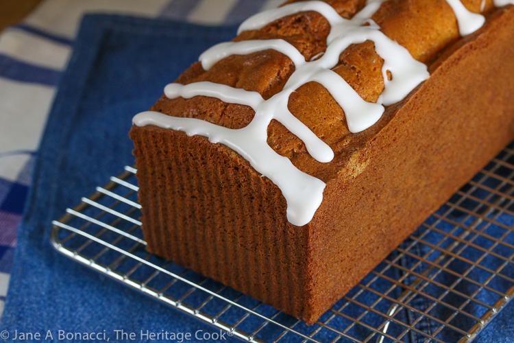 Lemon Pound Cake with White Chocolate Glaze © 2020 Jane Bonacci, The Heritage Cook