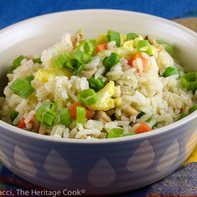 Chicken Fried Rice (Gluten Free)