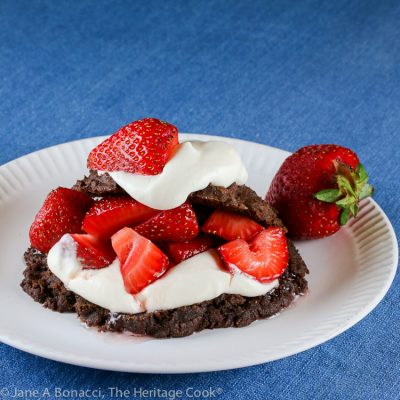 Berries and Chocolate Shortcakes (Gluten Free)