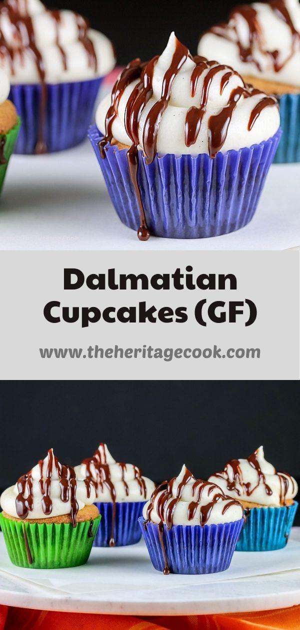 Dalmatian Cupcakes © 2020 Jane Bonacci, The Heritage Cook