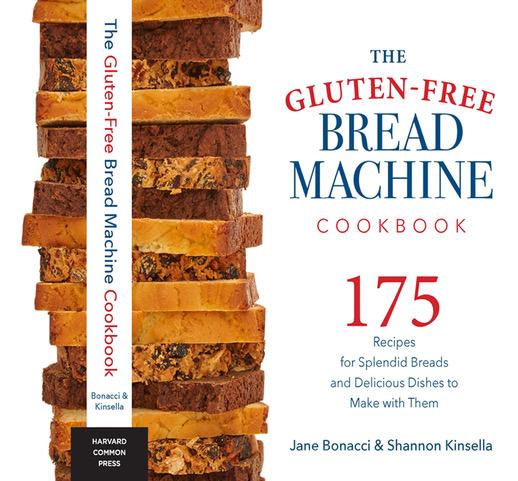 Gluten Free Bread Machine Cookbook cover