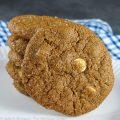 Ginger and White Chocolate Cookies © 2021 Jane Bonacci, The Heritage Cook