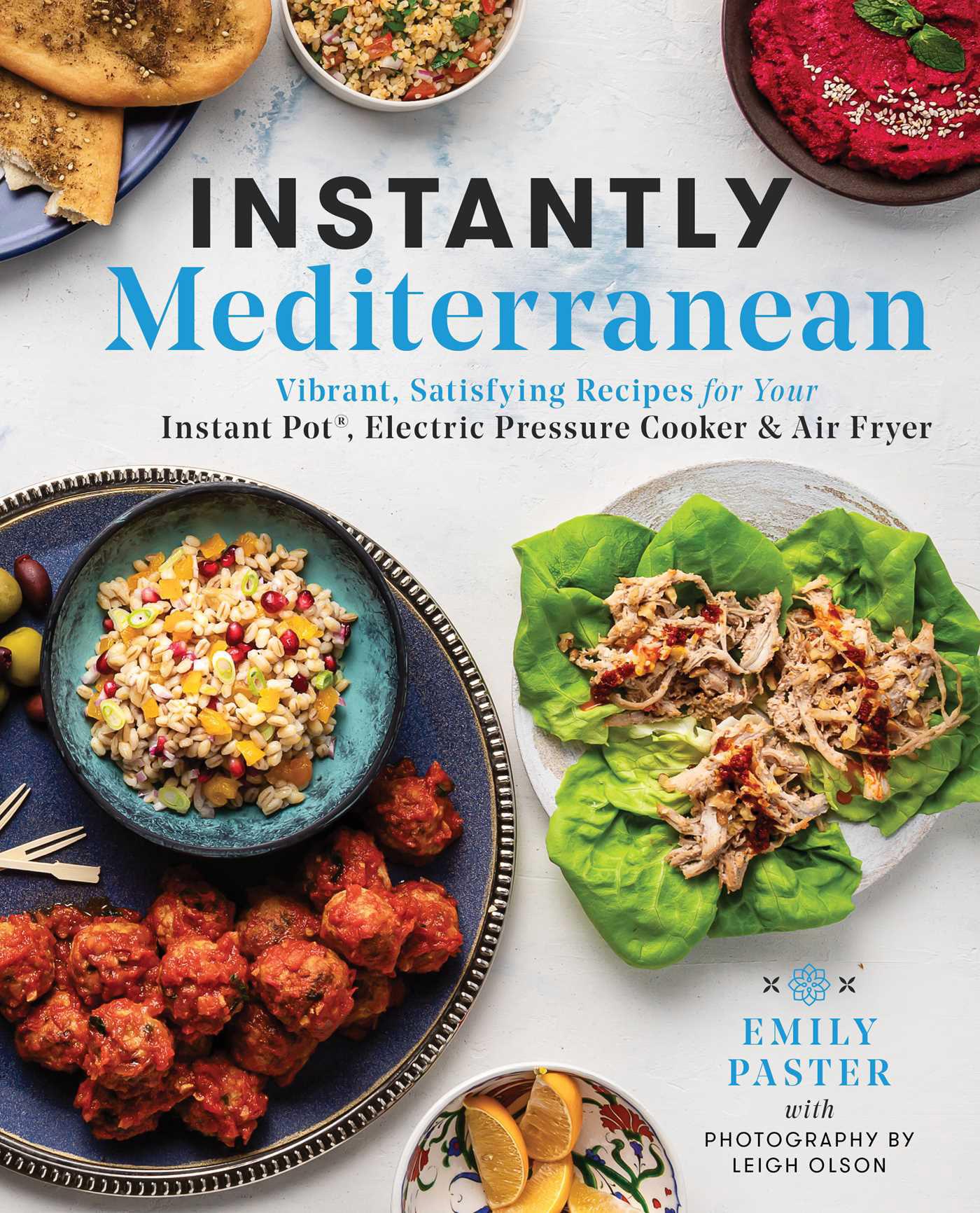 Cover of Instantly Mediterranean cookbook