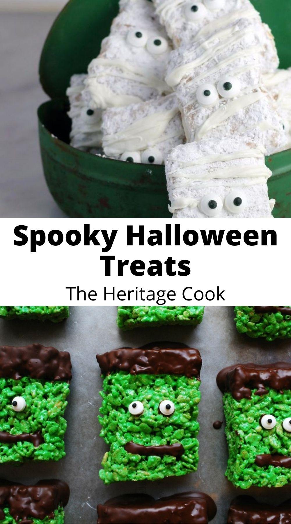 Spooky Halloween Treats collection; Jane Bonacci, The Heritage Cook 2017